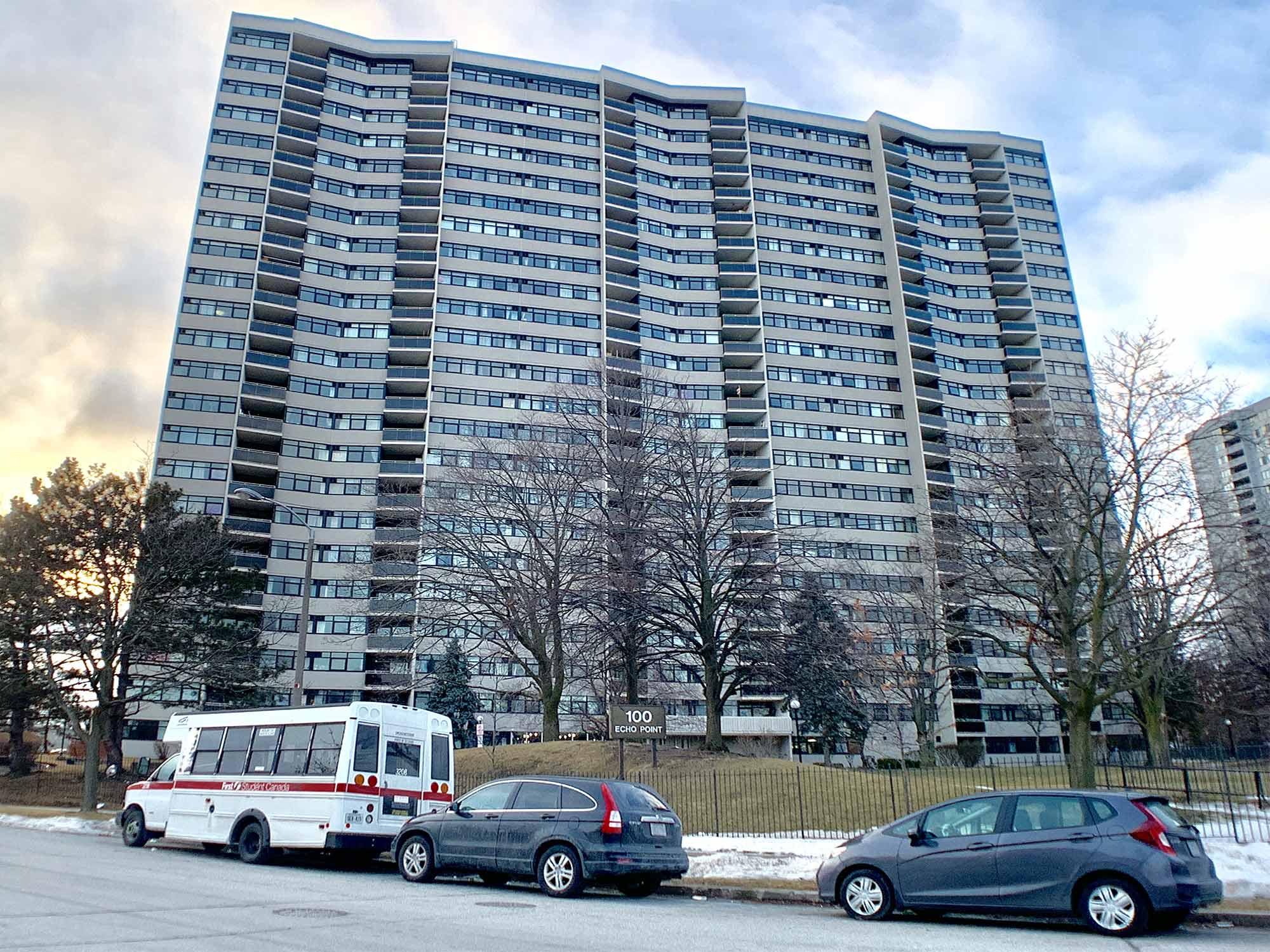 100 Echo Pt #2305, Toronto, Ontario    - Photo 1 - E4353437
